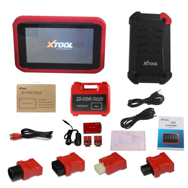 XTOOL X100 PAD Auto Key Programmer X-100 PAD with EEPROM adapter Support oil rest & Odometer Adjustment