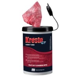 KrestoGT Cherry Scrubbing Wipes, 70 Count